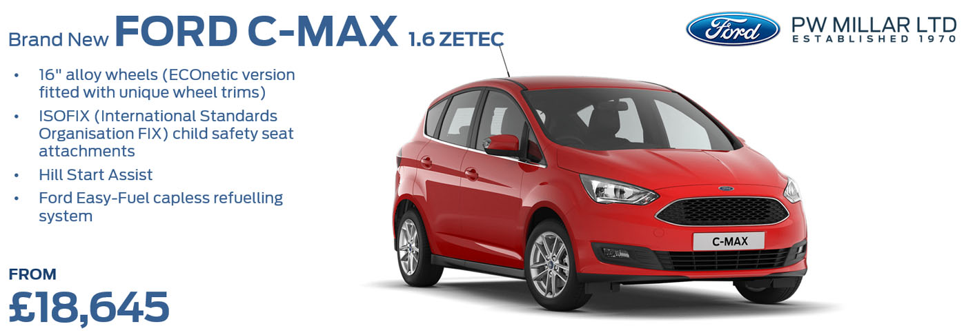 Ford C-Max and Grand C-Max Cars | Cheapest new Ford C-Max and Grand ...