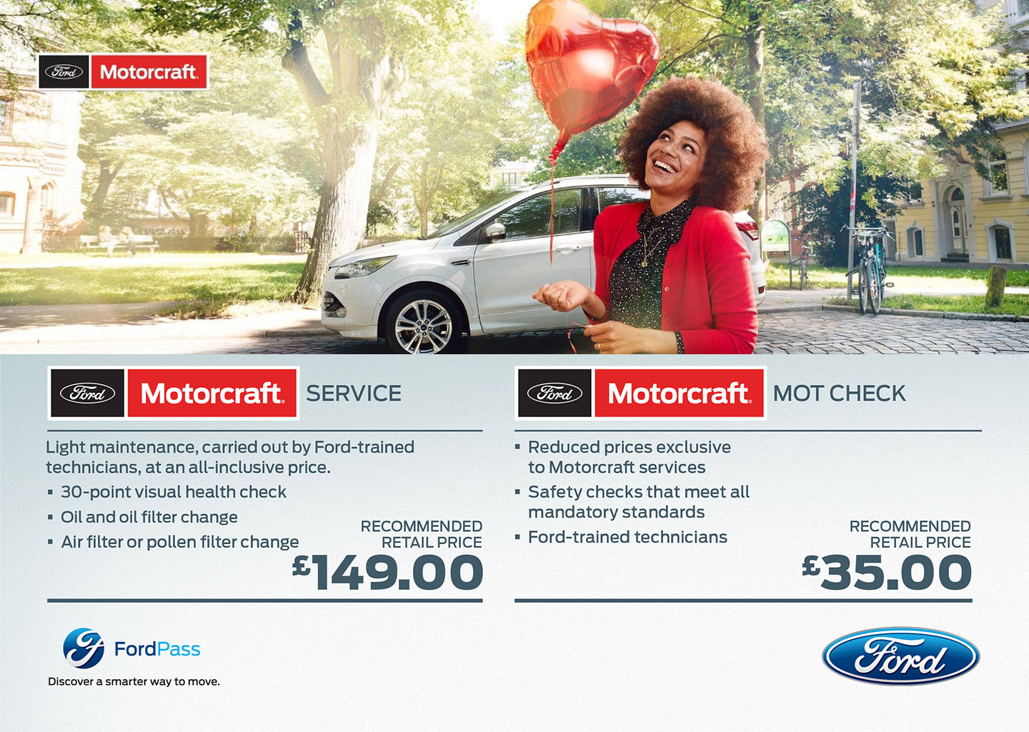 Ford Aftersales Special Offers Motorcraft